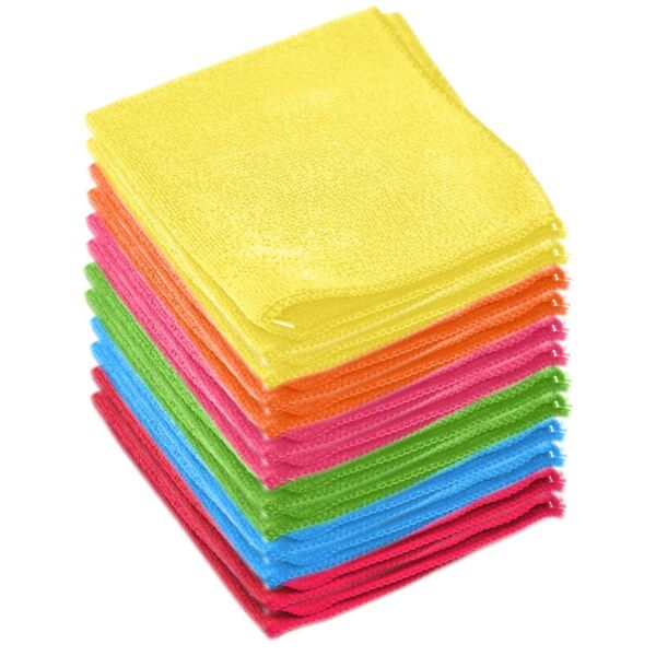 Microfiber Cleaning Cloth Towel Absorbent No Scratch Polishing Detailing Rags $11.99