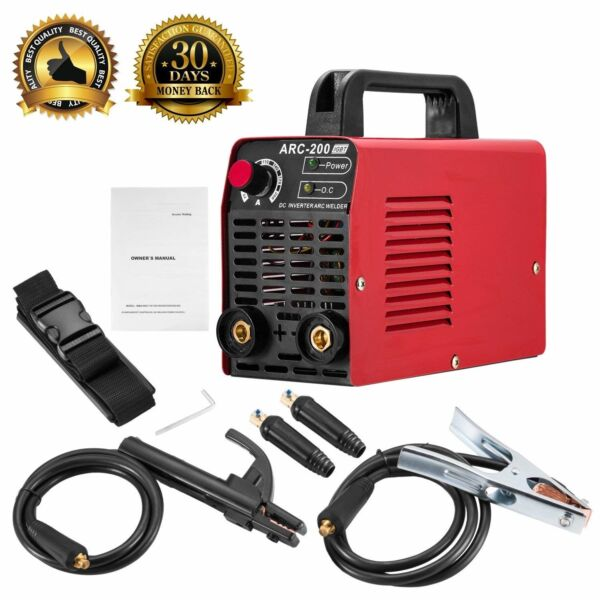 Arc Welder 110V 200Amp Welding Machine IGBT Inverter AC-DC mini Electric Welders