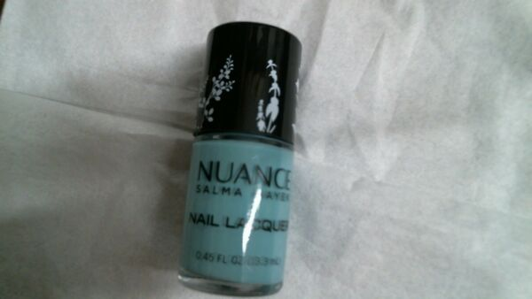Nuance Salma Hayek Nail Lacquer Polish 0.45 fl oz sea glass #515