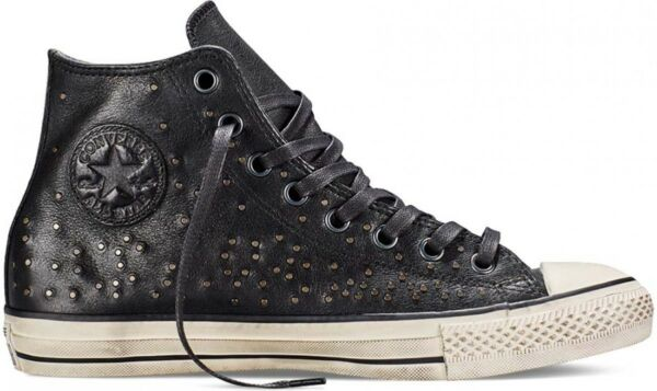 Converse CTAS 151295C John Varvatos Hi Mini Stud LEATHER Men's 8-13 Retail $250