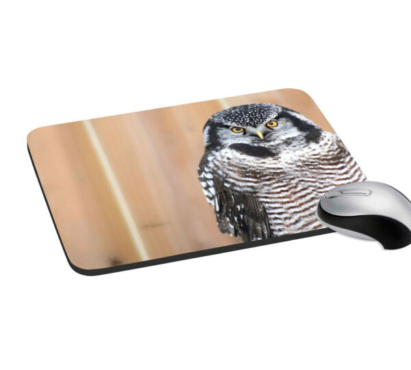 Eagle Desktop Mouse Pad (7.2X8) Notebook With Wrist Support Rest Mice Mat