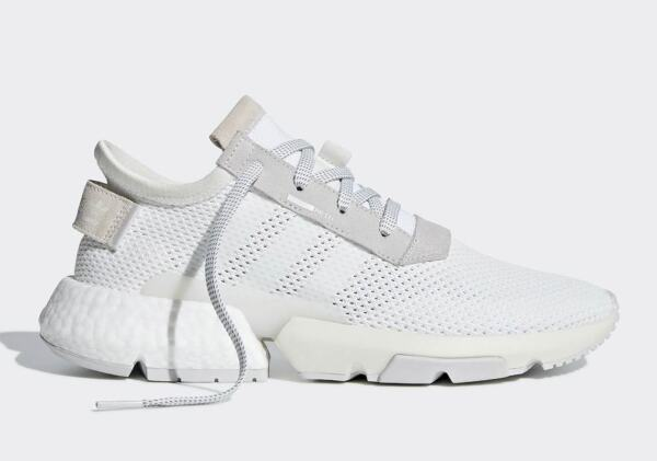 Adidas Originals Pod-s3.1 System Boost White Grey Men Lifestyle Sneakers B28089