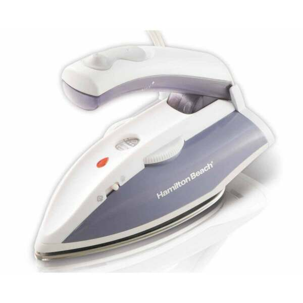 Hamilton Beach Travel Iron with Steam 10092 Used