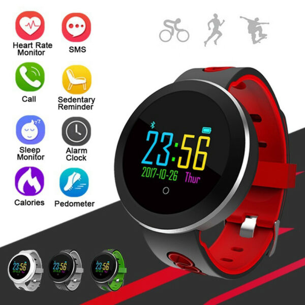Q8 Bluetooth Smart Watch Heart Rate Oxygen Blood Pressure Sport Fitness Tracker