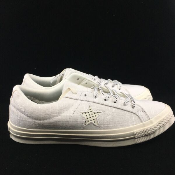 Mens Converse One Star OX White Chambray 160622c SIZE 7.5-13 FAST SHIPPING