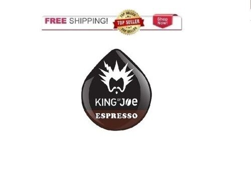 King Of Joe 16 Count Espresso Coffee T DISCs for Tassimo Beverage System