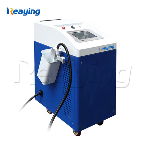 100W Portable Metal and non-metal Surface Laser Cleaner Duster Machine