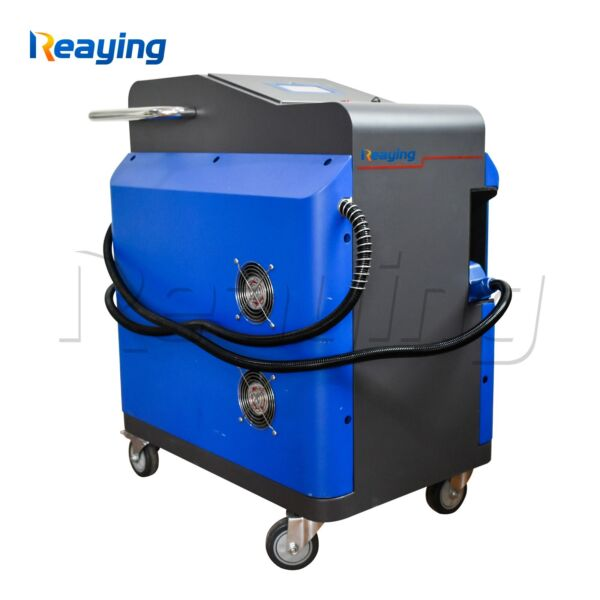 60W Portable Metal and non-metal Surface Laser Cleaner Duster Machine
