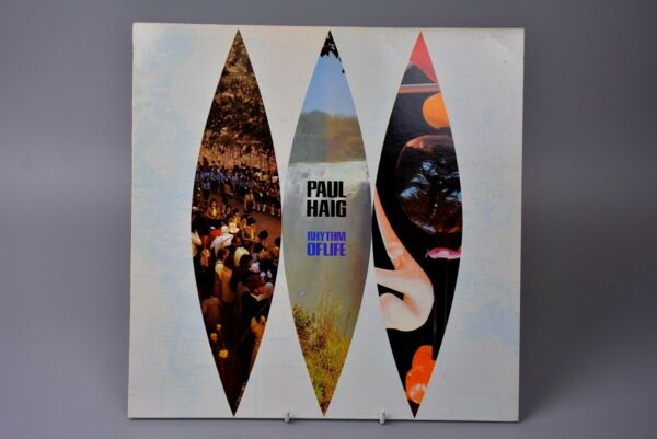 Record LP Album: Paul Haig - Rhythm of Life with Press Sheet Promo ILPS9742 - EX