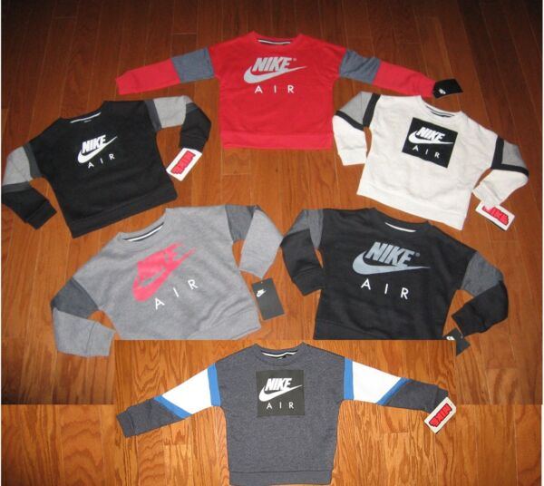 NIKE  AIR  PULL-OVER JACKET BOYS SIZE 2T 3T 4T  NWT