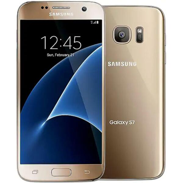 Samsung Galaxy S7 32GB Gold GSM Unlocked ATamp;T T Mobile Smartphone