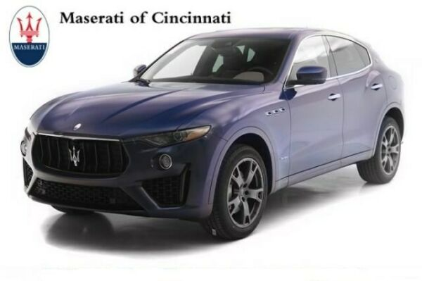 2019 Maserati Levante GranSport 2019 Maserati Levante GranSport 0 Blue Sport Utility Twin Turbo Premium Unleaded