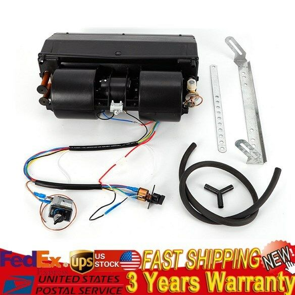 Universal Under dash AC Air Conditioning Evaporator Kit Heat + Cool 12V 404-000