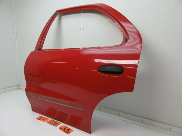 CAVALIER SUNFIRE LEFT REAR DOOR PANEL SHELL BACK DRIVER SIDE CAR RED OEM L LH LR