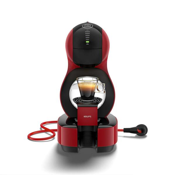Krups Lumio Red KP1301 Coffee maker capsules Dolce Gusto Automatic Nestlé 48