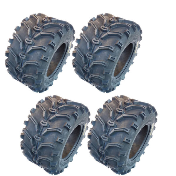 Kenda 25x8X12 25x10X12 Bear Claw Atv Tires Set of 4 Front Rear All Terrain K299