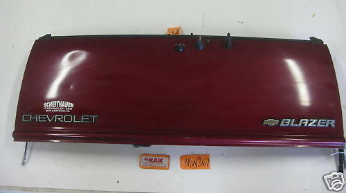 S10 BLAZER S15 JIMMY BRAVADA BACK REAR TAIL GATE DOOR DROP HATCH PANEL BODY OEM