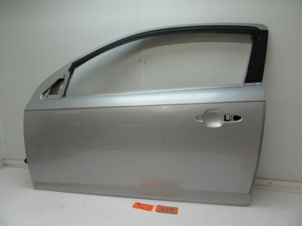 DOOR PANEL SHELL SILVER L LH LEFT DRIVER 2 DR COUPE CAR 05-10 COBALT G5 PURSUIT