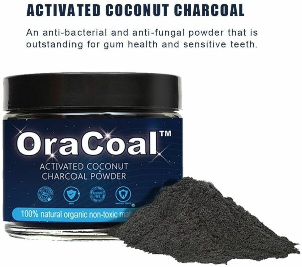 Coconut Activated Charcoal Powder Carbon Coco Teeth Whitening Tooth Whitener $12.99