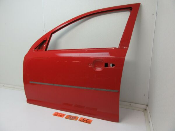 LEFT FRONT DOOR SHELL PANEL RED LF LH L 4 DOOR SEDAN DRIVER SIDE OUTER FRAME OEM