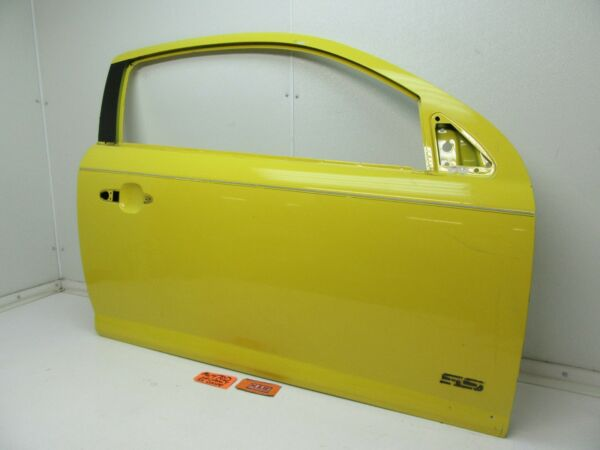 CAR DOOR PANEL SHELL PASSENGER SIDE RIGHT RH R YELLOW fits 05-10 COBALT COUPE G5