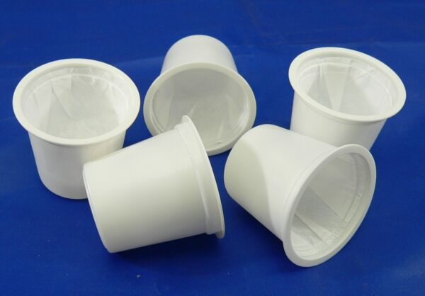 BAP 10000 Empty K Cup Style Cups with Sealed Filter for Keurig  (no lids)