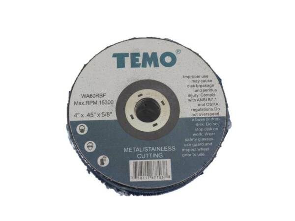 TEMO 25p 4quot; Metal and Stainless Cutting Wheel 1.2mm Thickness 5 8quot; Arbor