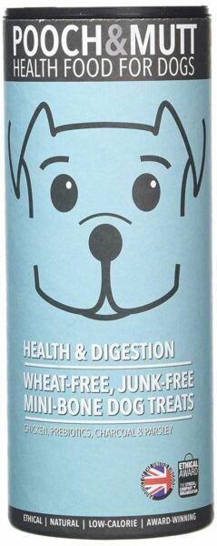 Pooch & Mutt Health & Digestion Hand Baked Dog Treats - 125g (Pack of 6)