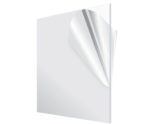 """Acrylic Plexiglass Plastic Sheet 0.125"""" 1 8quot; Thick You Pick The Size Clear"""