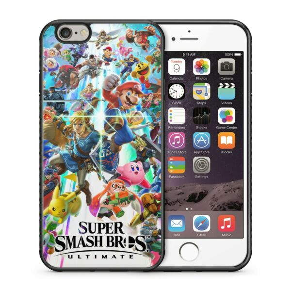 SMASH BROS ULTIMATE COVER BUMPER PHONE CASE IPHONE 5 6 7 8 X 11 PRO MAX GALAXY $13.99