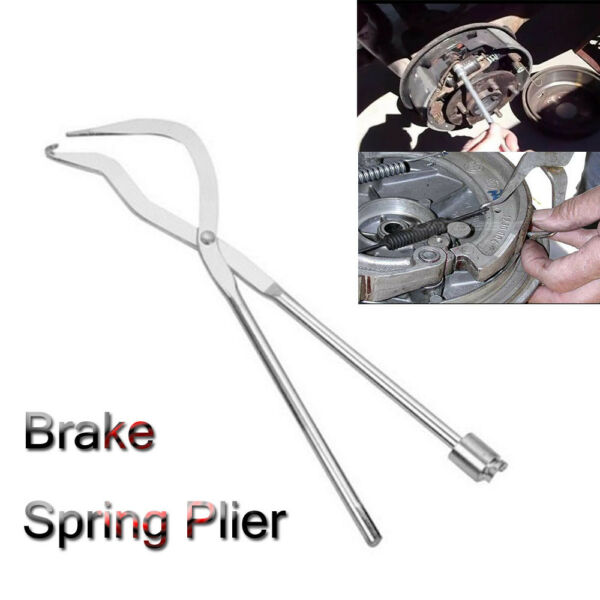 Automotive Hand Tools Removal Installation Brake Shoe Spring Plier Tool 1PC