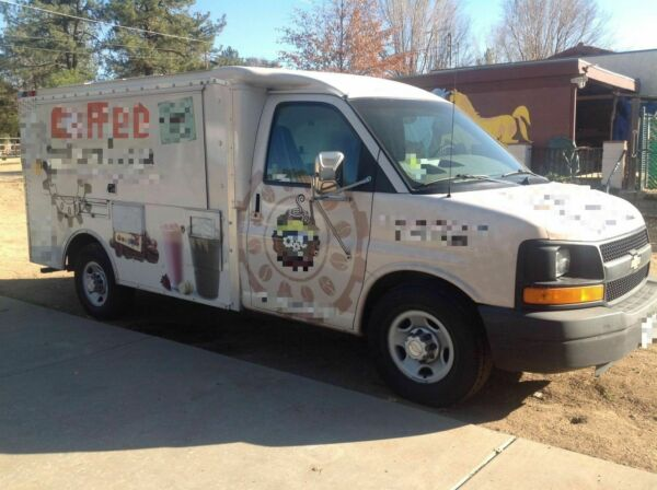Chevy Coffee Truck for Sale in California!!!