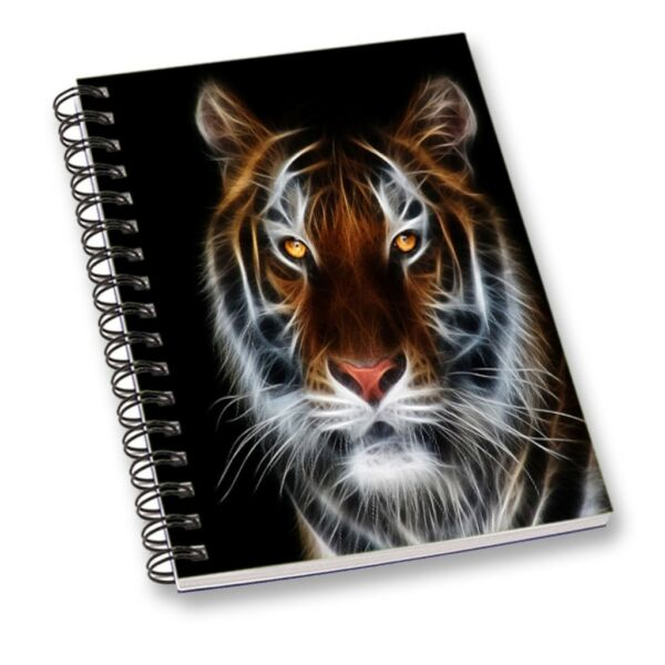 Stationary For Boys Girls A5 Note Book Notepad Sequin Diary Tiger Journal $9.99
