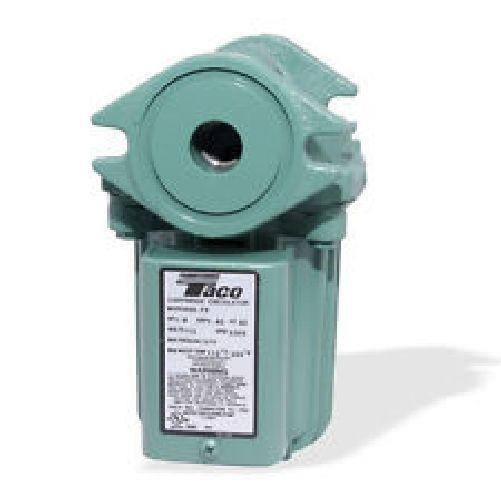 Taco 009 HBF5 J Pump Circulator With Bronze Cartridge For Outdoor Wood Boiler $254.19