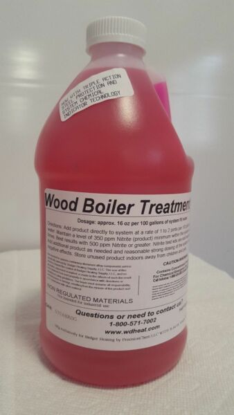 Corrosion Inhibitor Water Treatment 101 Various Outdoor Wood Boilers 1 2 Gallon $59.95