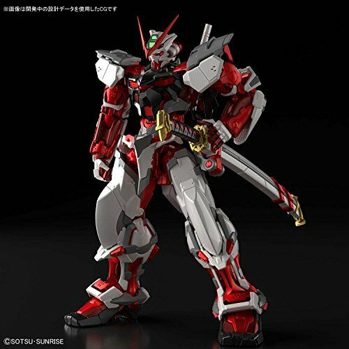 BANDAI Hi-Resolution Model Gundam Seed Gundam Astray Red Frame 1100 Scale Kit
