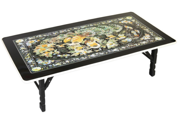 Phoenix Design Mother of Pearl Artificial Nacre Table MADE IN KOREA