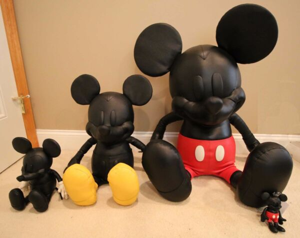 Disney x Coach COMPLETE Mickey Mouse Doll SET Collectible LIMITED EDITION S M L