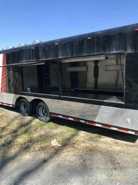 8' x 48' Mobile Kitchen Catering Concession Trailer for Sale in Arkansas!