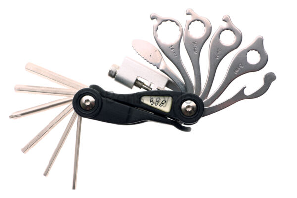 BBB Scorpion Folding Multi Tool 18 Functions BTL 03 Wrenches Allen Bike Snap NEW $7.99