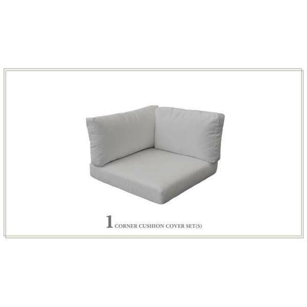 TK Classic 4quot; Outdoor Cushion for Corner Chair in Gray $109.02