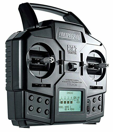 FINESPEC 2.4GHz 4-CHANNEL RADIO CONTROL SYSTEM (TRANSMITTER & RECEIVER SET)