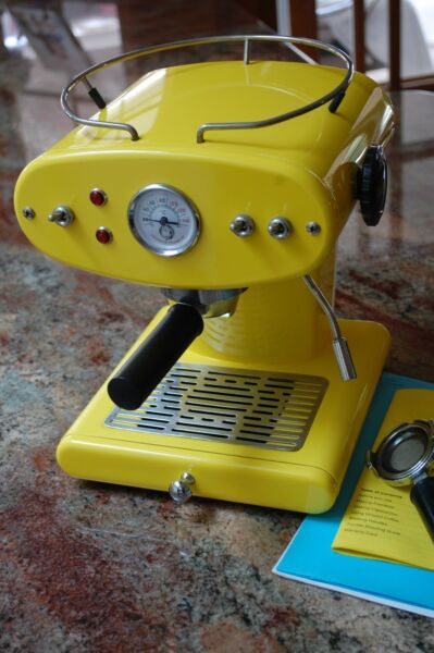 Illy Francis Francis Espresso Machine Ground Coffee X1 YELLOW 230VOLT Parts asis