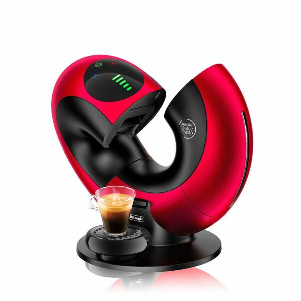 DELONGHI Nescafé Dolce Gusto Eclipse Machine coffee 1500 W effect brushed