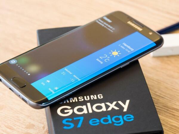 New in Sealed Box Samsung Galaxy S7 EDGE G935A AT&T 32GB 5.5 Unlocked Smartphone
