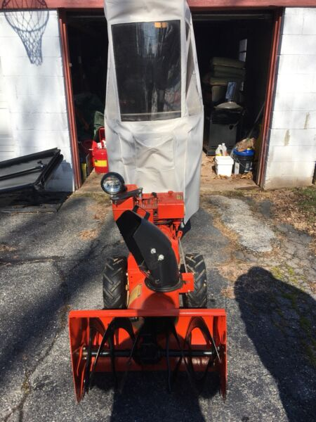 Industrial Snow Blower With Cab 2 Stage
