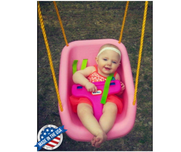 Toddler Baby Swing Indoor for Kids Heavy Duty Secure Tree Wide Seat Outdoor Tree $59.52