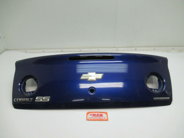 TRUNK DECK LID REAR fits 05 06 07 08 09 10 COBALT SS COUPE LASER BLUE METALLIC