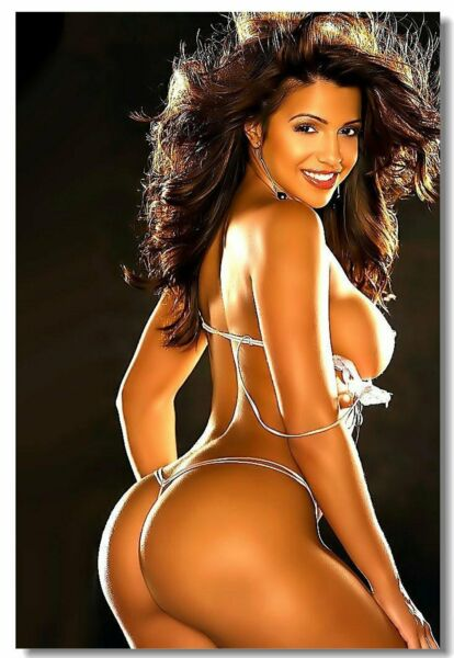 Poster Vida Guerra Girl Super Model Art Wall Cloth Print 201