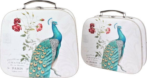 Hoff Interieur 2538 Suitcase with Peacock
